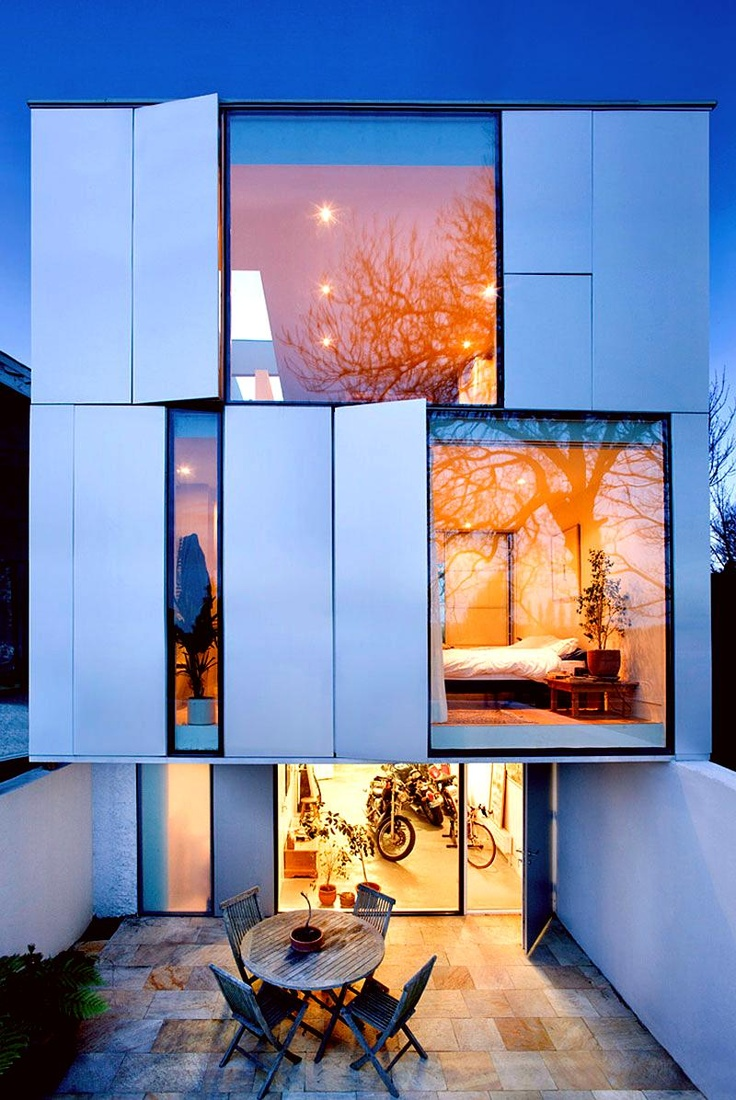 Modern home -- windows! I can dream...
