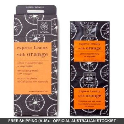 APIVITA Express Beauty with Orange Revitalising Mask  #adorebeautydreamhaul