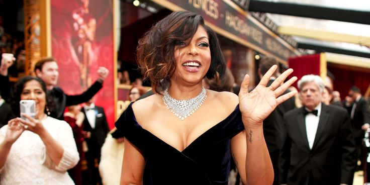 See How Taraji P. Henson's Tousled Bob on the Oscars Red Carpet Cost Her $20