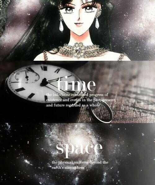 La guardiana del tiempo...Plut