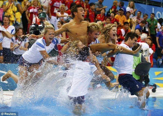 Divers on Team GB