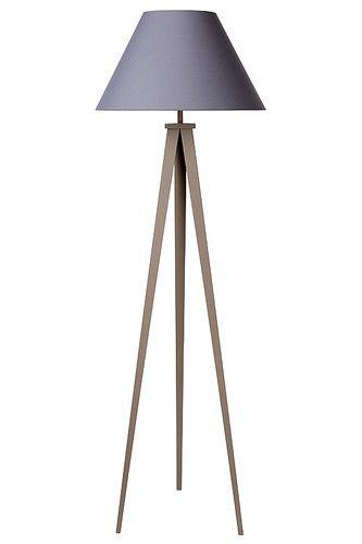 Lucide JOLLI Oprawa podłogowa E27 D50 H153cm Taupe/Shade Grey 42702/81/41 Kolory Światła