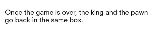 """""""Once the game is over, the king and the pawn go back in the same box."""" // Italian Proverb"""