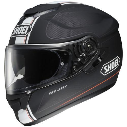 Shoei GT-AIR Wanderer Black Helmet - Motorcycles508