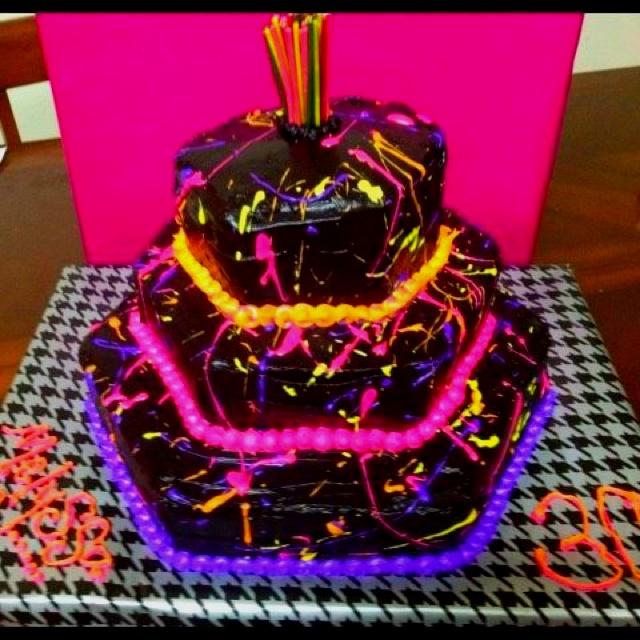 80 S Themed Cake Birthday Party Ideas Pinterest