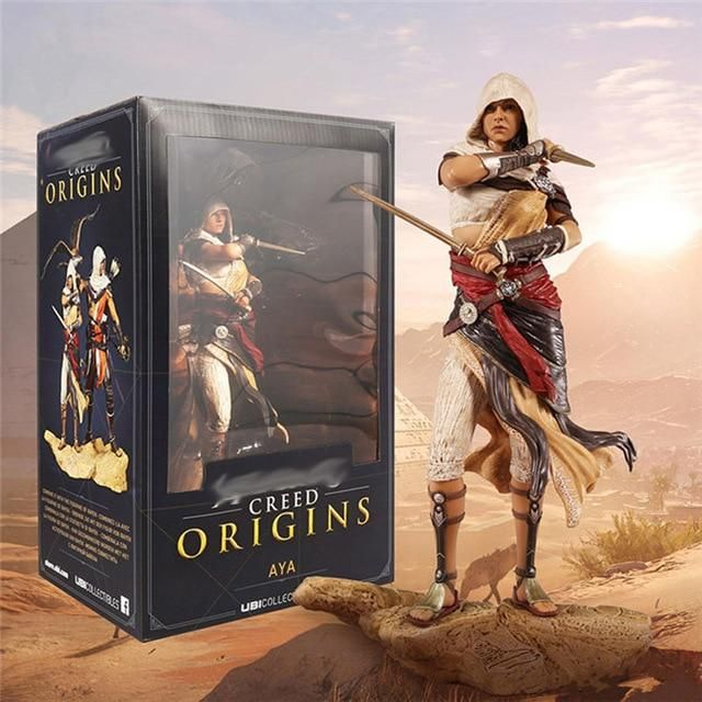 Assassin/'/'s Creed Origins Aya Connor Kenway Action Figure Statue Figurines Toy