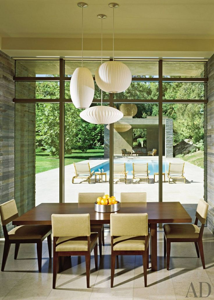 Dining Room By Everage Design And Richard Landry In Los Angeles California