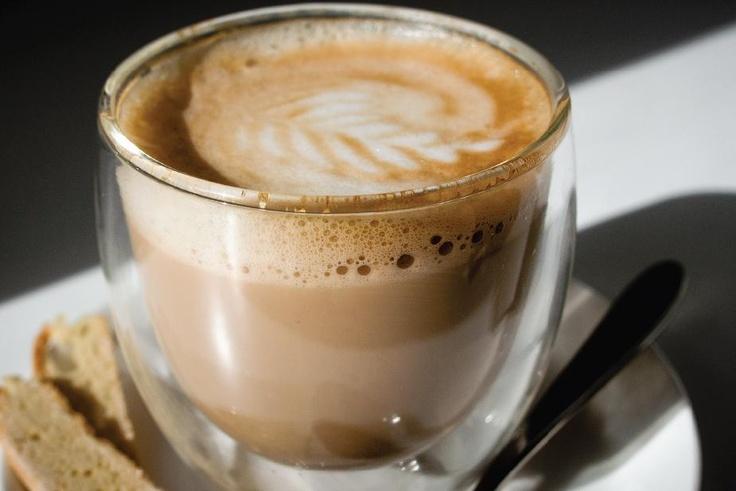 Cortado at Dear Me in Longmarket street, Cape Town. An instant sip to heaven!