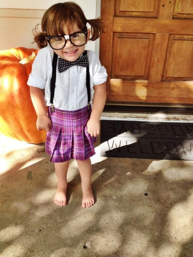 15 best nerd costumes images on pinterest nerd costumes costume a cute nerd costume for girls solutioingenieria Image collections