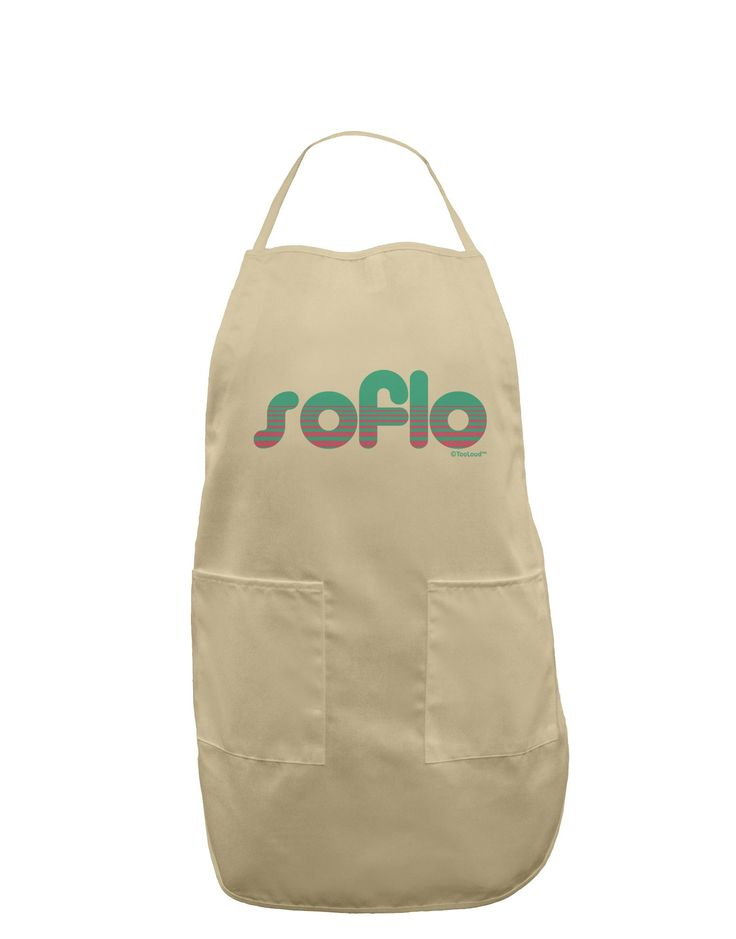 SoFlo - South Beach Style Design Adult Apron by TooLoud