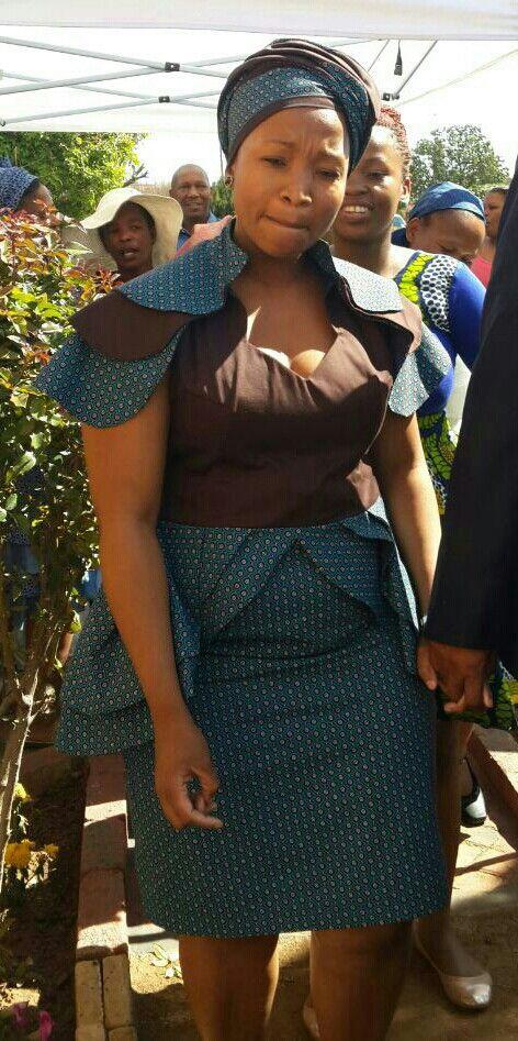 Lesedi's shweshwe design