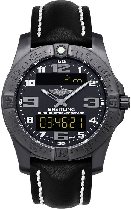 V7936310/BD60-436X NEW BREITLING AEROSPACE EVO NIGHT MISSION MENS WATCH