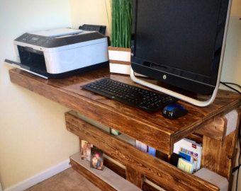Rústico pallet rack/estante de la toalla por AWRestoration en Etsy