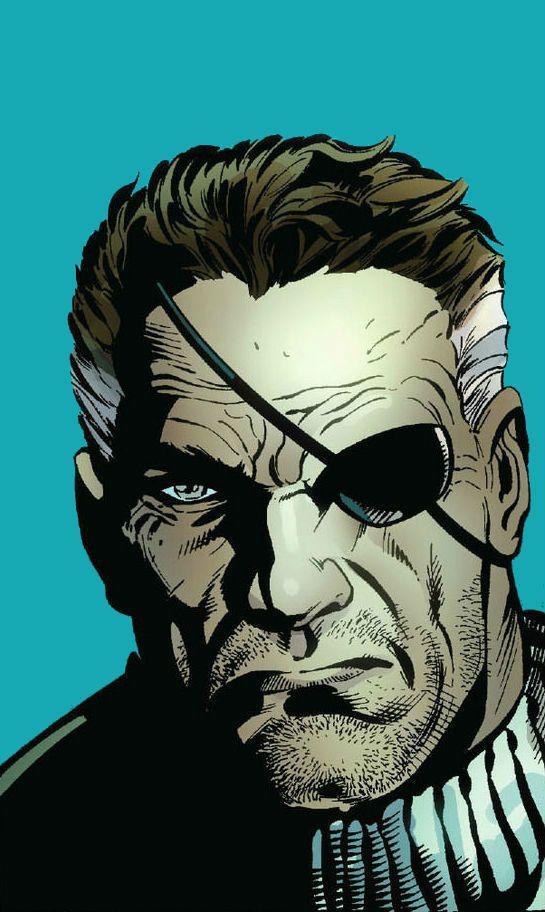 Nick Fury by Scot Eaton