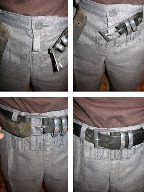 ЗАЧЕМ НА МУЖСКИХ БРЮКАХ НУЖНА ШЛЁВКА НАД ГУЛЬФИКОМ?  Большинство современных производителей опускает такую незначительную, но важную деталь как шлёвка над гульфиком. А, ведь, именно шлёвка над гульфиком не позволяет брюкам спереди провисать из-под ремня.  Мужские брюки выполнены из натуральной шерстяной ткани (95 %), доработаны ручной строчкой. Индивидуальный пошив, март 2015 год.  Зачем на мужких брюках нужна шлёвка над гульфиком? http://www.christinafee.net/talking-about-mens-trousers