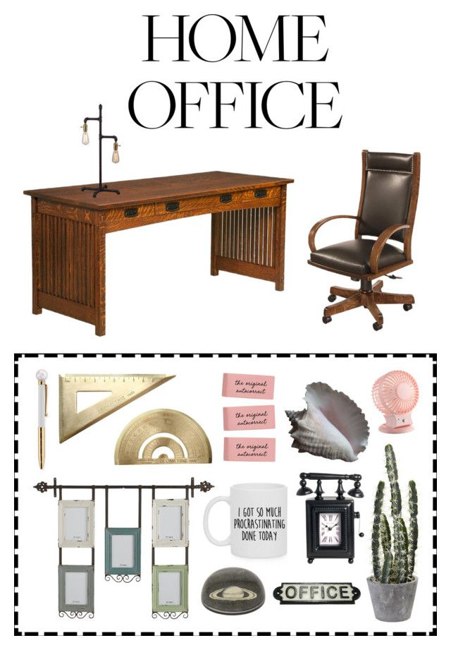 Home office by perpetto on Polyvore featuring interior, interiors, interior design, dom, home decor, interior decorating, DutchCrafters, Basset Mirror Company, Pier 1 Imports and Jayson Home