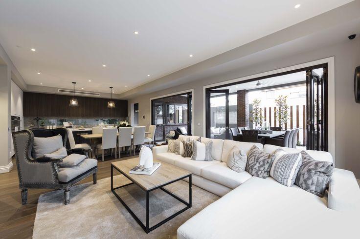 Villa Modena - Simonds Homes #interiordesign #livingroom