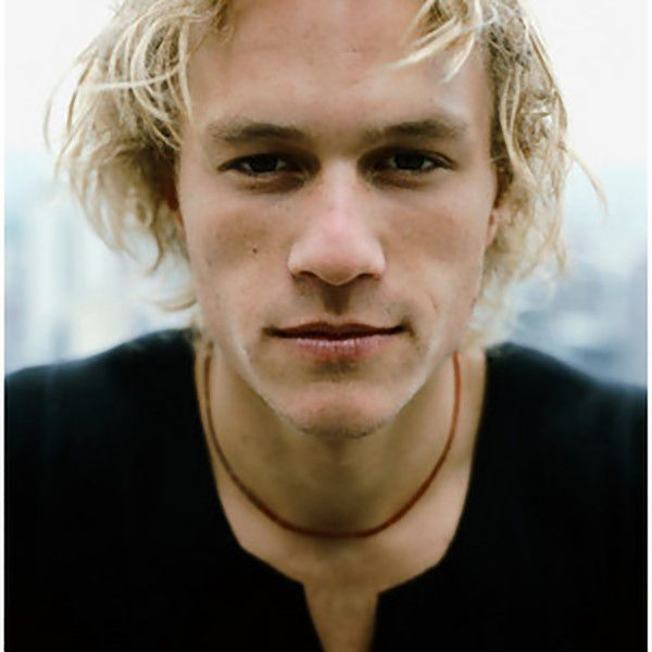 Heath Ledger <3 I think he was one of the most beautiful actors ever and I hate that his is not in this world anymore :/