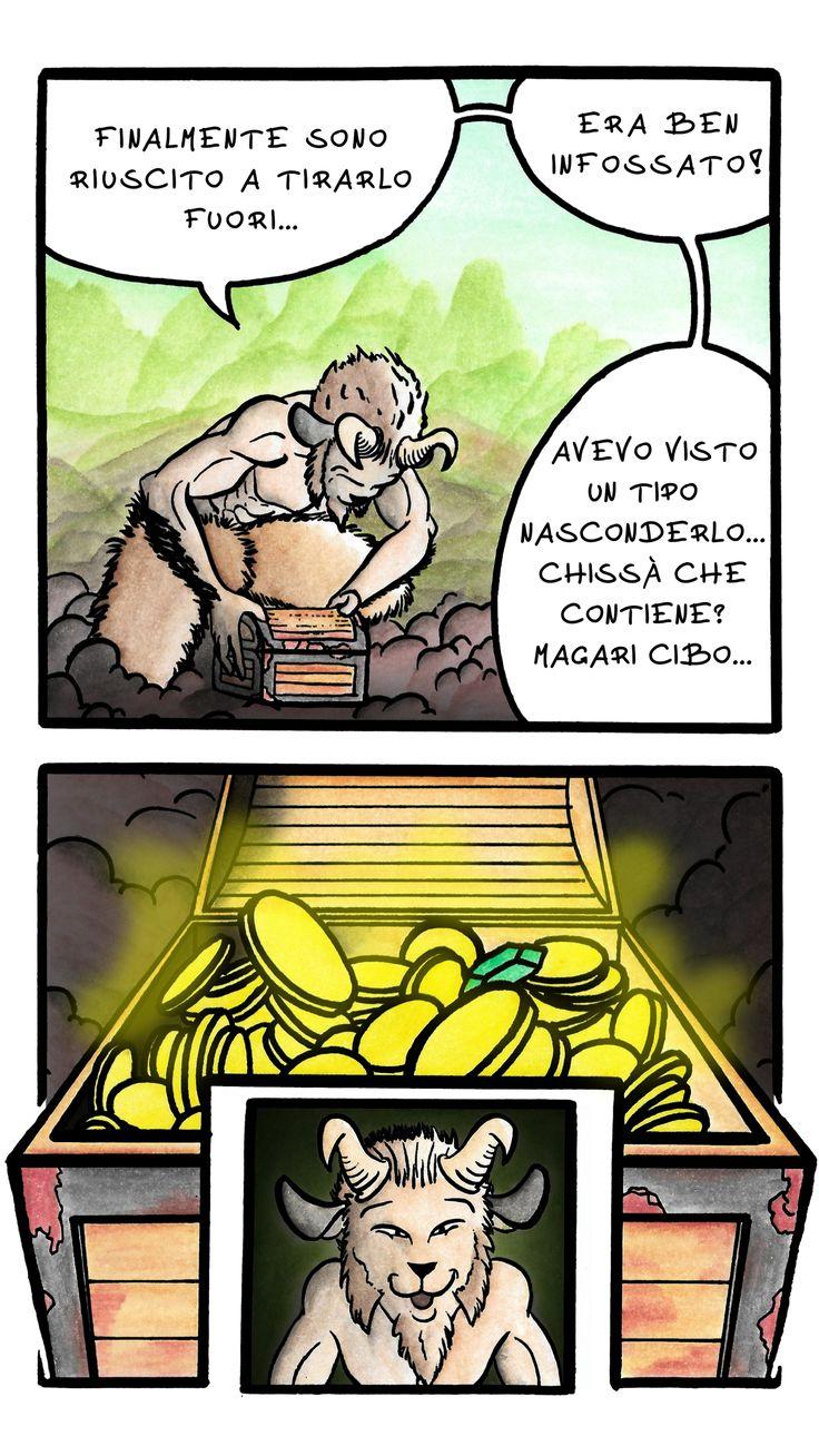 Giulio bottega, fumetto Il Satiro pagina 2