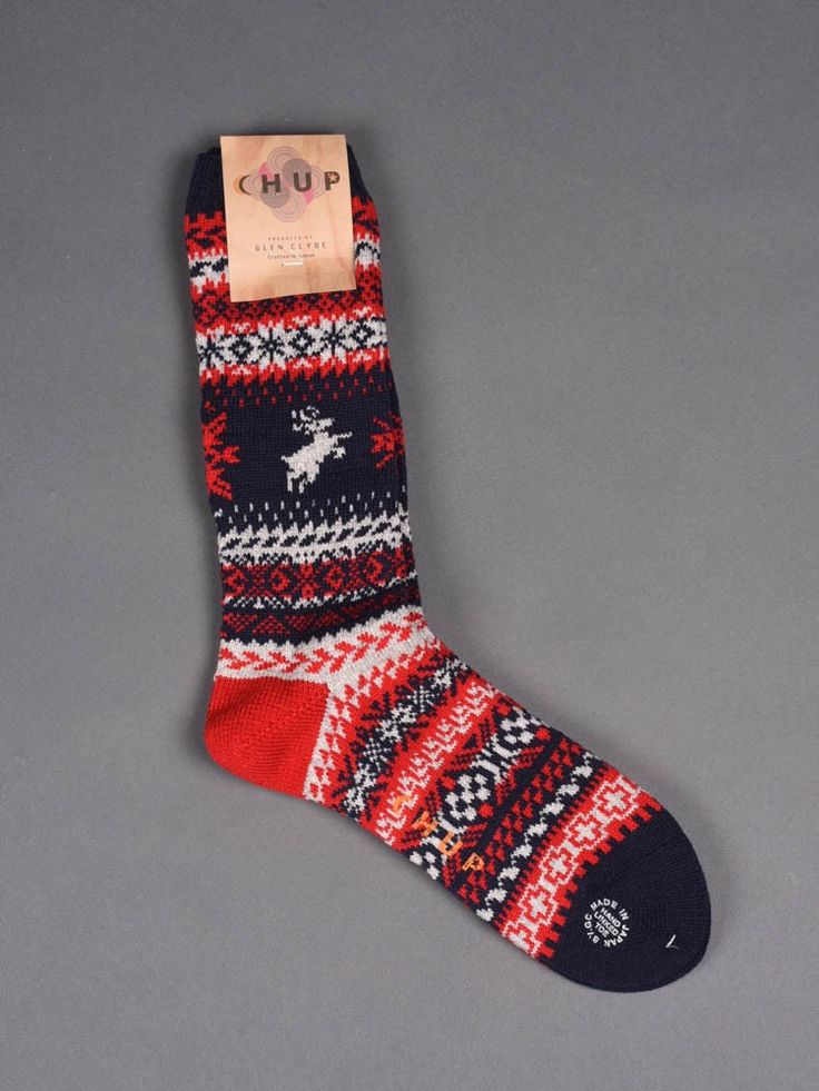 Chup Socks - Capiliano - Navy -Hand-linked toe -Crafted in Japan