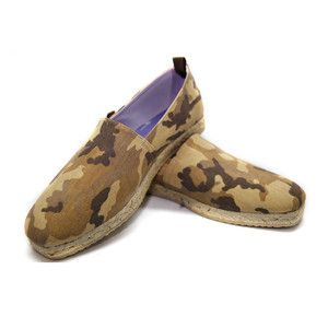 Pamplona Espadrille Men's Camo, $104, now featured on Fab.