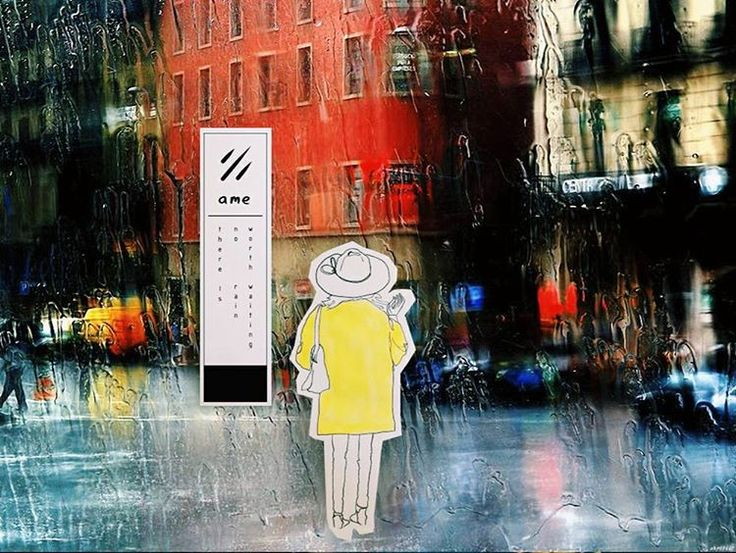Afternoon doodle and city painting #ameraincoat  #rain #sketch #inkonpaper #copic #raincoat #multiliner #art #illustration #igart #graphic #drawing #sketchbook #vscocam