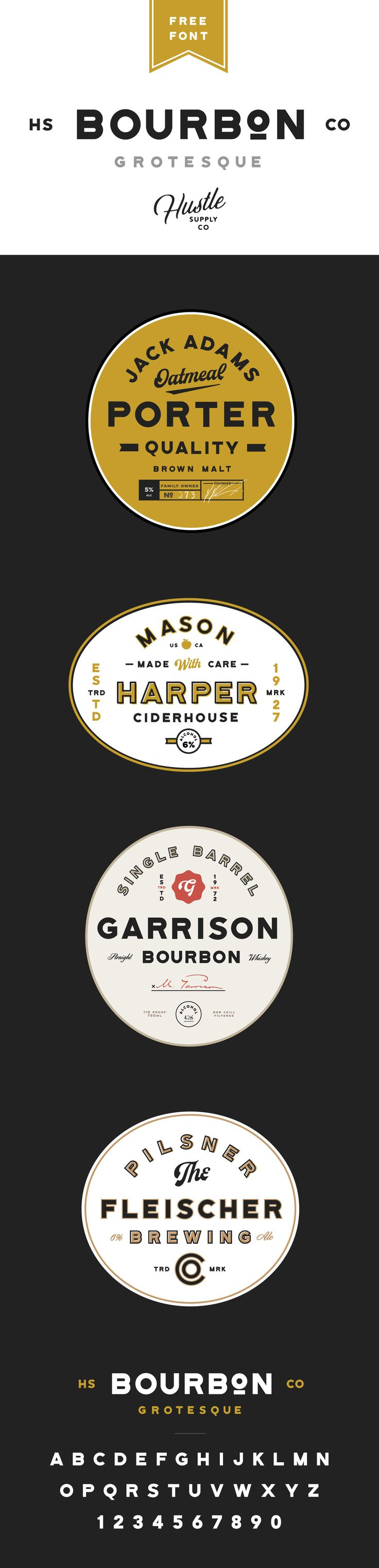 Bourbon Grotesque is a free versatile sans serif typeface - Available on my website!http://jeremyvessey.com/bourbon-grotesque/