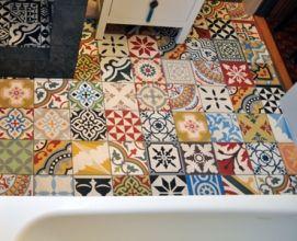 Encaustic Tiles Patchwork