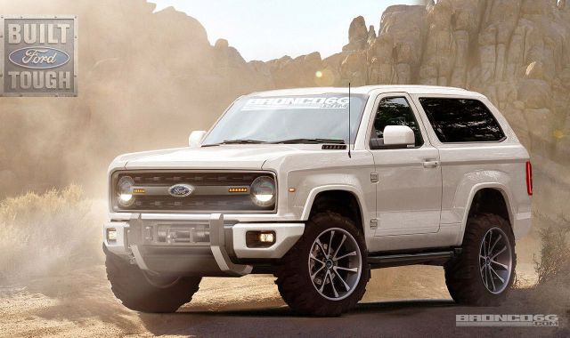 2020 Ford Bronco Concept Designed By a Fan Forum Is Absolutely Perfect - RoadandTrack.com