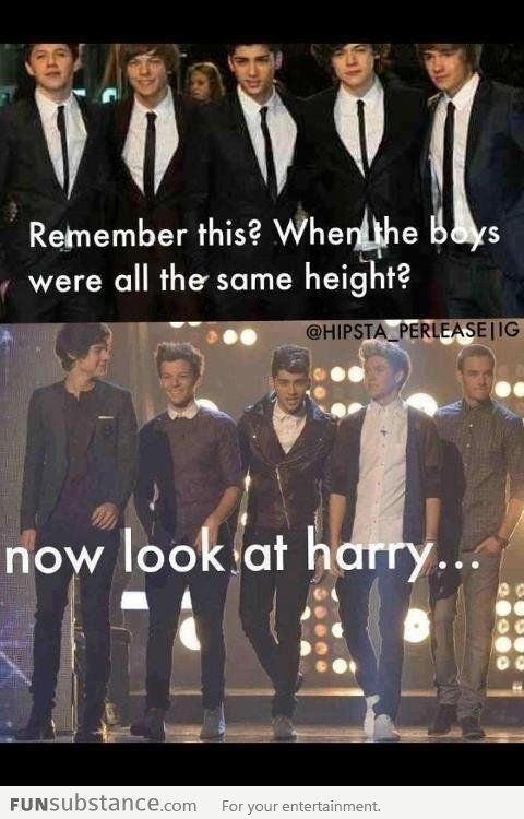 me too harry me too :) <3 xx<<< but I seriously haven't grown more that 2 inches within these 3 years how in the-