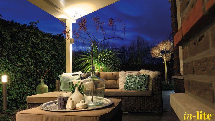 ACE UP-DOWN | Wandlamp | Sfeervol buiten | Tuin | Inspiratie | 12V | Buitenspot BIG SCOPE | Staande lamp LIV | Tuinverlichting