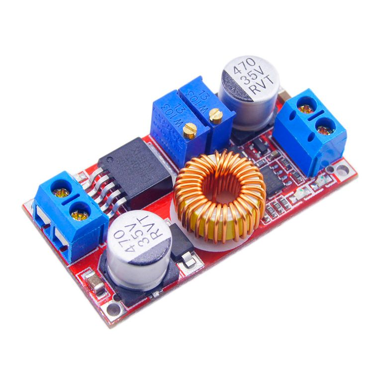 1Pc Lithium Battery 5A DC to DC CC CV Charging Board Lithium Power Charger Step Down Module Charging Board LED Power Converter