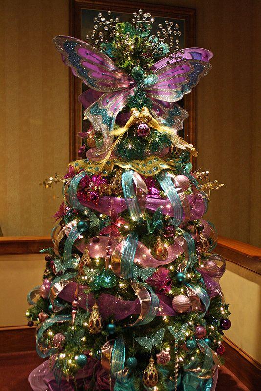 A Butterfly Christmas Tree For Ramonita<3 !!