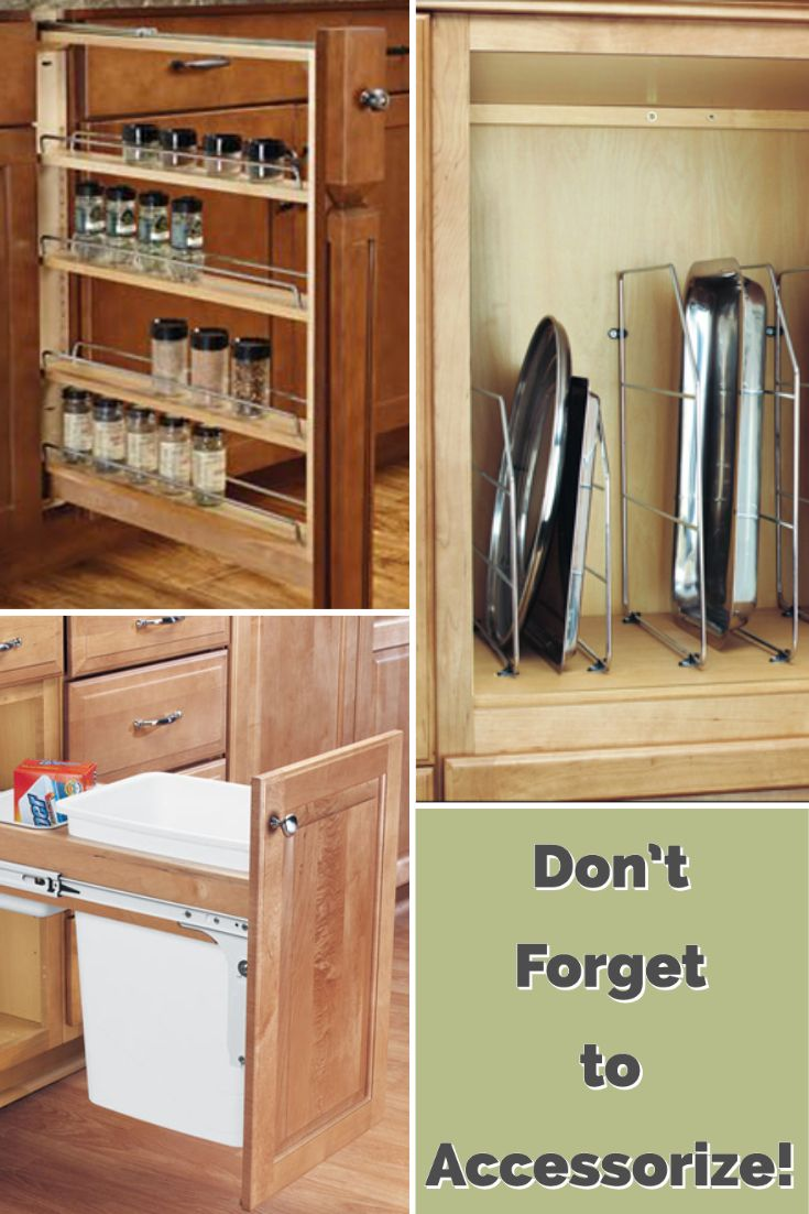 Don T Forget Your Cabinet Accessories In 2020 Buy Cabinets Kitchen Storage Solutions Kitchen Cabinet Accessories