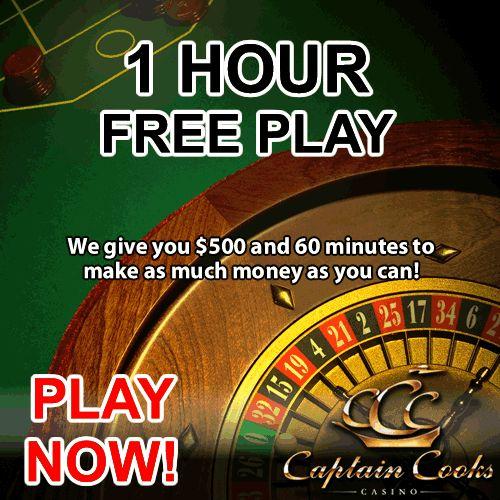one hour free play casino uk
