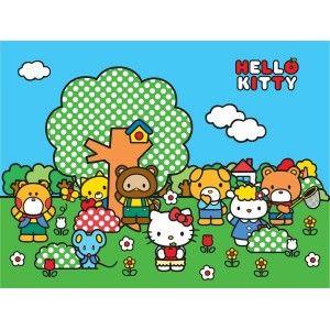 Hello Kitty poszter (360 cm x 255 cm)