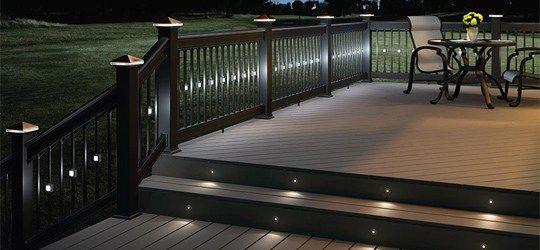 Solar Led Deck Lights Landscape Lighting Ed