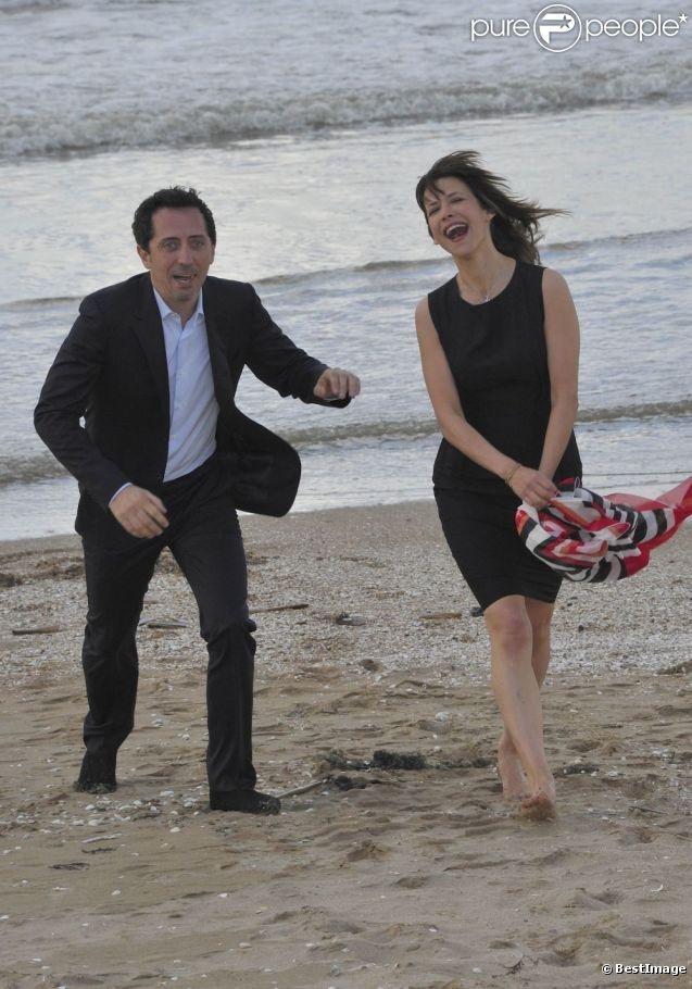 Gad Elmaleh et Sophie Marceau en juin 2012