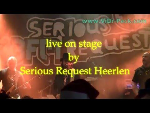 Rectifire live on stage Serious Request Heerlen 20 12 2015