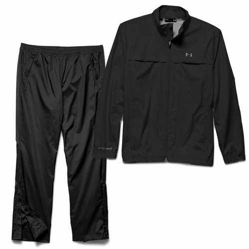 Under Armour Men's Storm Golf Rain Suit - Black