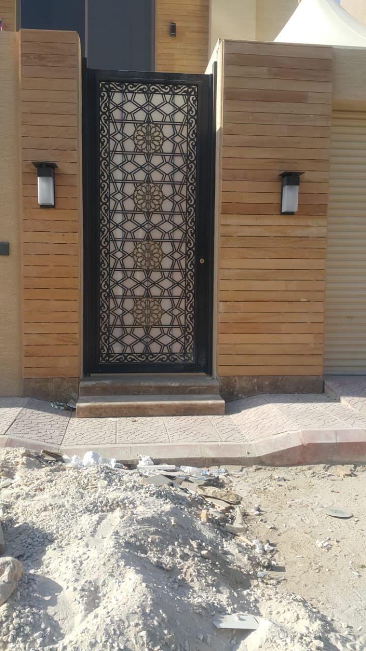 Saudiarabia Riyadh Doors Gates Design Cnc Lifestyle Modern Cadd Beautiful Metaldoor Lasercut ابواب Door Design Metal Door Doors