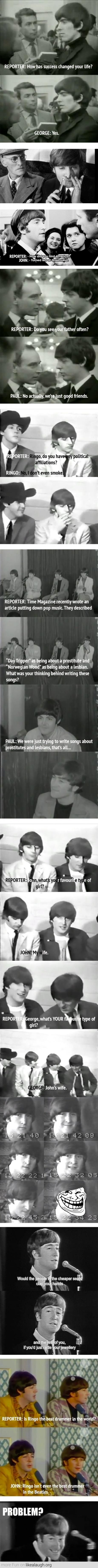 The Beatles were trolling before it was cool