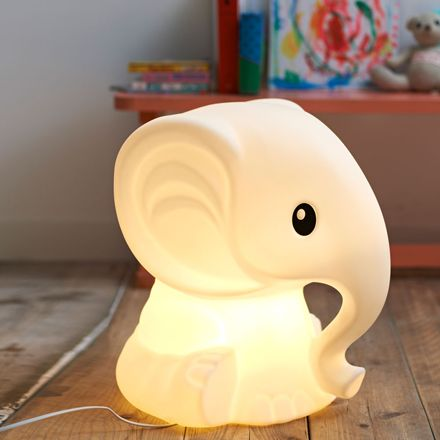 Anana elephant lamp for kids from Design from Paris