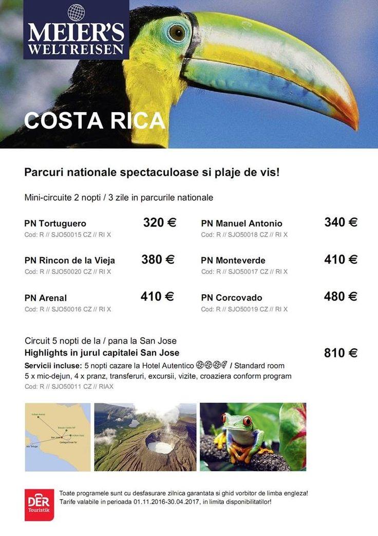 Pura Vida in COSTA RICA - un paradis tropical cu parcuri nationale spectaculoase si plaje de vis! http://bit.ly/2gPw36M  #aventura #exotic
