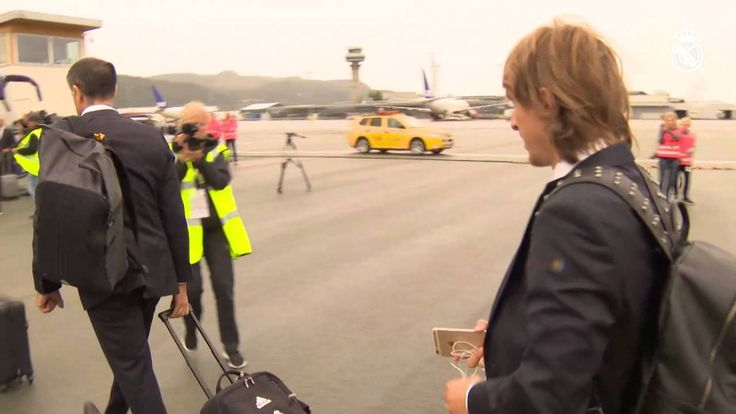 Sergio Ramos Our journey to Trondheim for the UEFA Super Cup