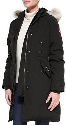 Shop Now - >  https://api.shopstyle.com/action/apiVisitRetailer?id=523284149&pid=uid6996-25233114-59 Canada Goose Kensington Fur-Hood Parka  ...