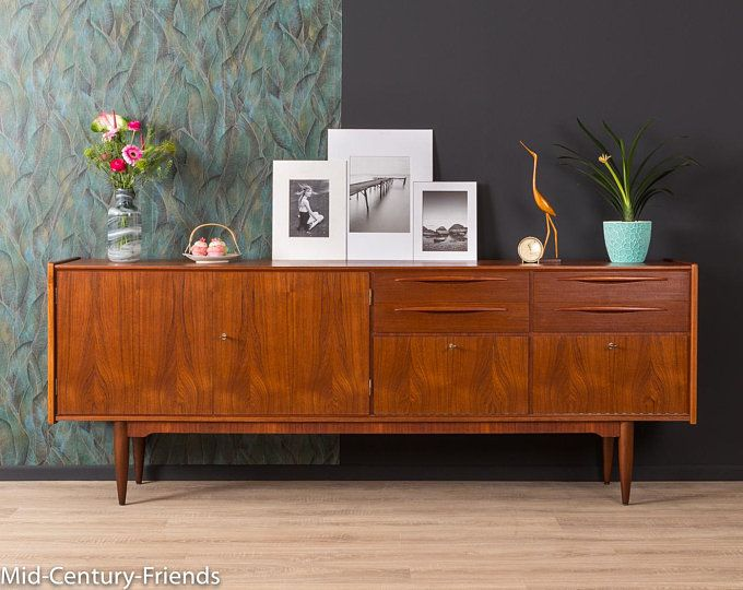 50s Sideboard Chest Of Drawers Vintage 50s 804036 In 2020