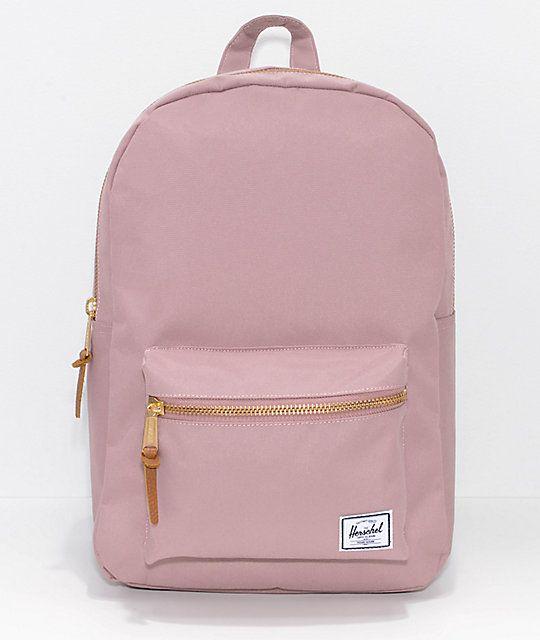 c9dce7ab70d Herschel Supply Co. Settlement Ash Rose 17L Backpack   Fashion ...