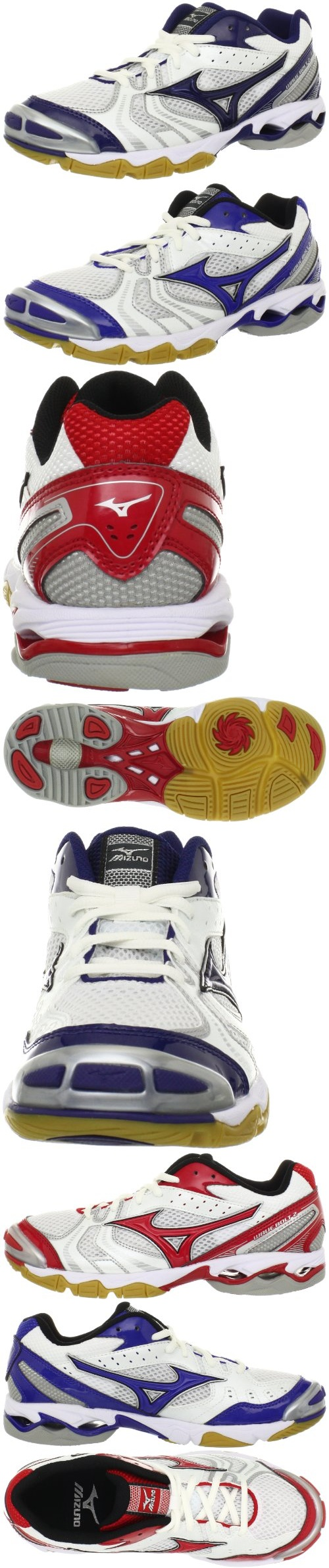 Mizuno Women's Wave Bolt 2 Volleyball shoes. I have the blue ones.