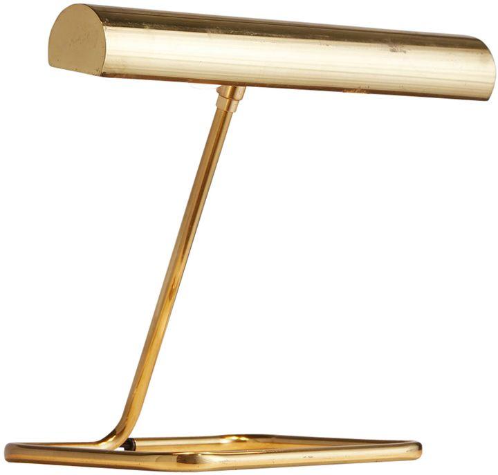 Rejuvenation Modern Brass Table Lamp by Koch & Lowy